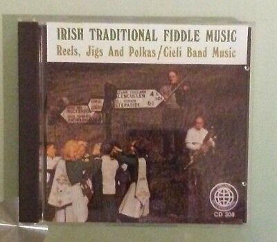 IRISH TRADITIONAL FIDDLE MUSIC reels jigs and polkas cieli band music CD