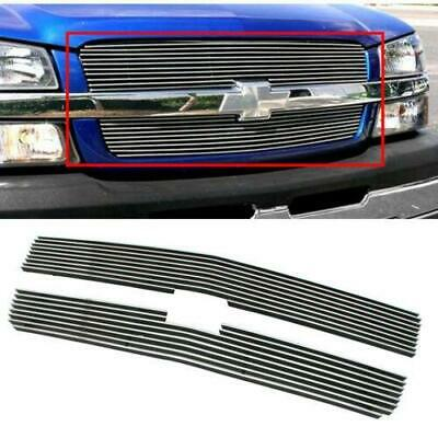 Fits 03-04 Chevy Silverado HD/03-06 Chevy Avalanche Billet Main Upper Grille