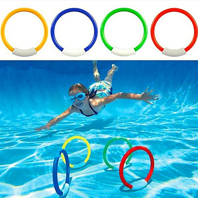 Dive Ring Swimming Toy For Adult Children Water Play Sport Diving Fun Toy
