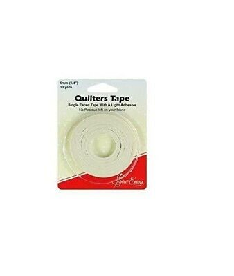 Sew Easy Quilters Tape Single Faced With A Light Adhesive 27m x 6mm