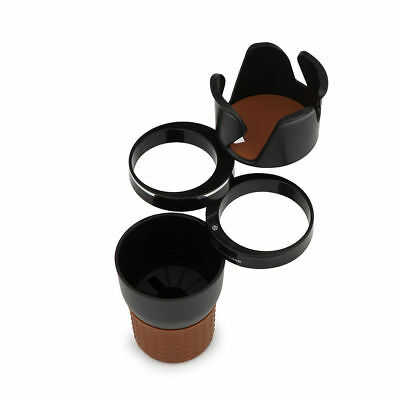 Multi-function 3 Layers 35ml Car Stack Rotatable Organizer Storage Cup Holder