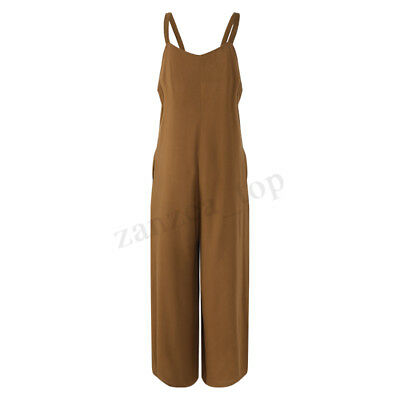 Maternity Pregnant Women Playsuits Wide Leg Loose Long Trousers Rompers Overalls