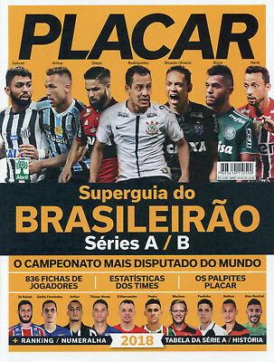 Placar Superguia do Brasileirao 2018 - Brazil Football Season Preview Magazine