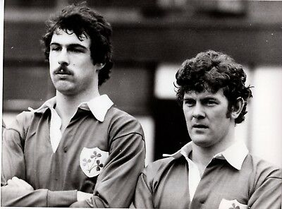 Original Press Photo Rugby Union Ireland Mike Gibson & Colin Tucker 28.2.79