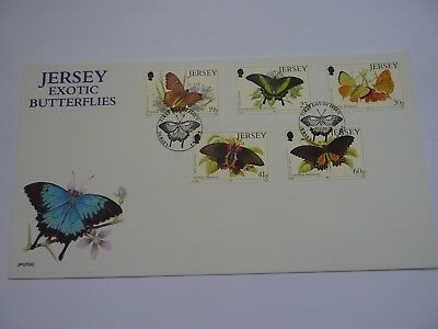 Jersey Exotic Butterflies 1995 FDC