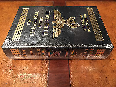 Easton Press THE RISE AND FALL OF THE THIRD REICH Shirer SEALED