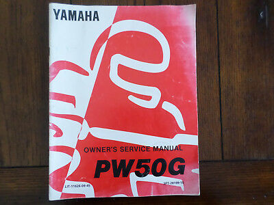 1994 Yamaha PW50G Owners Service Manual