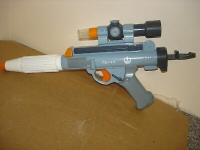 Rare Star Wars NERF Rebel Electronic Blaster Lazar Sight Adult Cosplay
