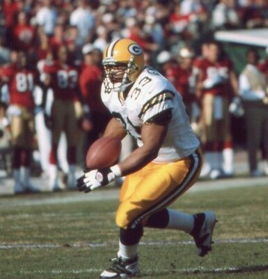 DON BEEBE GREEN BAY PACKERS 8X10 SPORT PHOTO K