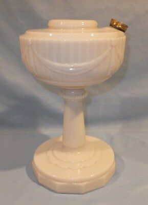 1940 - 1949 pre war Alacite Scalloped Foot Aladdin oil lamp
