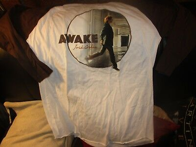 2006 JOSH GROBAN Awake 3/4 Sleeve T Shirt MED Uber Soft American Apparel 50% 50%