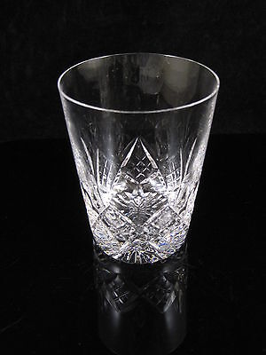 BEAUTIFUL STUART CRYSTAL 10oz GLENGARRY TUMBLER GLASS