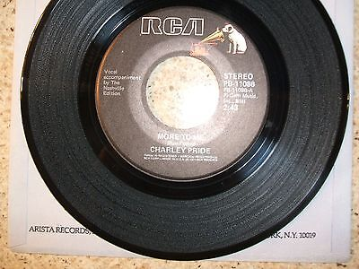 Charley Pride On 45 Rpm -  More To Me  - Nm