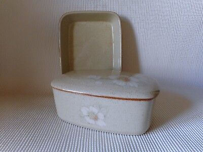 Denby Daybreak -Butter Dish & Oblong Dish  - Great Condition
