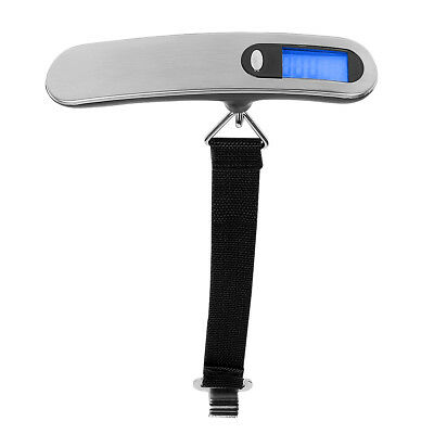 Portable LCD Handheld Digital Travel Luggage Scale For Max 110lb 50kg Baggage