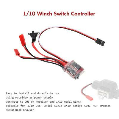 1/10 Winch Switch Controller für RC 10.01 JEEP Axial SCX10 AX10 Tamiya CC01 S6V6