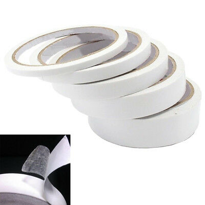 25M Double Sided Clear Sticky Tape DIY Strong Craft Adhesive Home Office School