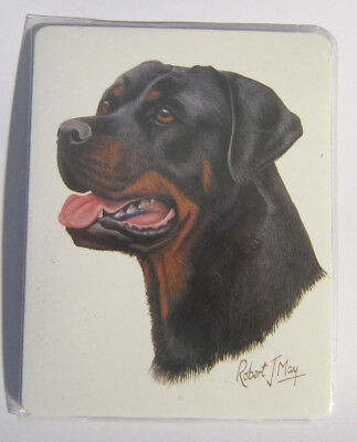 Retired Dog Breed ROTTWEILER Vinyl Softcover Address Book by Robert May