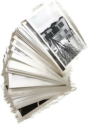 Lot of 50 Vintage 1930s-40s  Photographs - 2.5 x 4.5 Inch Photos - People Floods