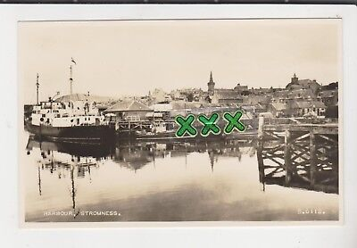 Valentines B6112 Photo Postcard - Harbour, Stromness (Orkney) Incl Lorries,boats