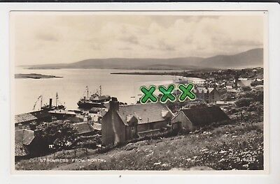 Valentines B6239 Photo Postcard - Stromness From North (Orkney)