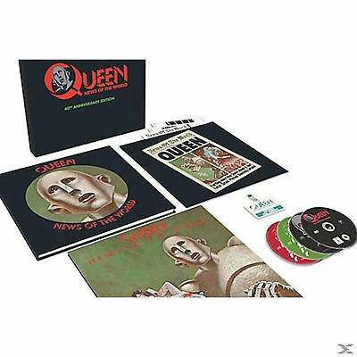 Queen - News Of The World -40th anniversary edition ( 3CD+DVD+LP+memorabilias)