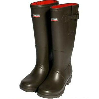 Town & Country Rutland Neoprene Lined Wellington Boots, Size 9