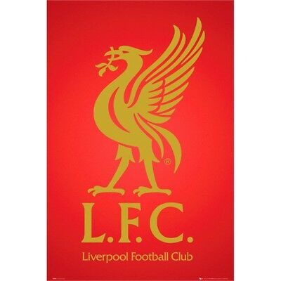Liverpool Fc Club Crest 2013 Maxi Poster - 43 Official Football Wall Gift New x