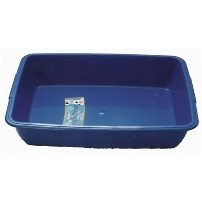 Whitefurze Plastic Medium Cat Litter Tray 4 Colours
