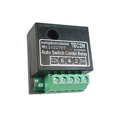 Relay - 20a Self-switching Combi (tec2m) Bk - Maypole Selfswitching Tec2m