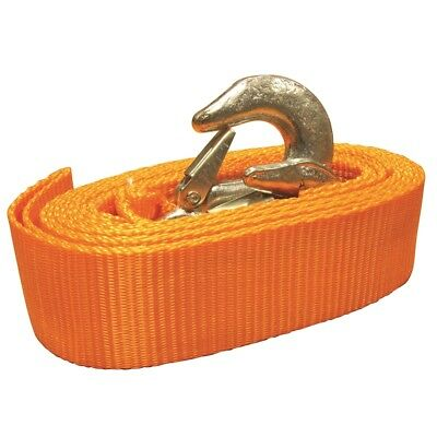 Towing Belt 6.5 Tonne Strap Tow Rope 3.5 Metre Long With Free Carry Case - 65