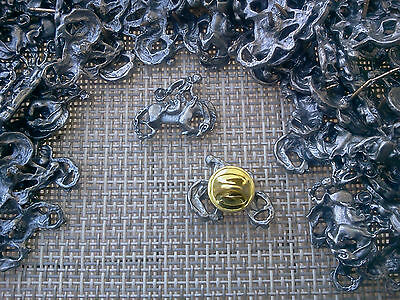 Cowboy Western Rodeo Show Jewelry 24 Bucking Bronco Pewter Pinss All New.