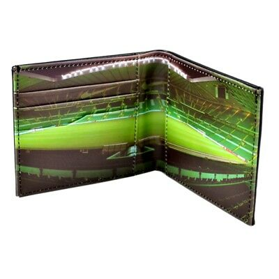 Celtic Fc Leather Wallet - Panoramic - Football Gifts - Official Club Stadium