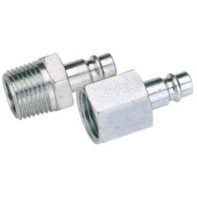 """Draper 54414 1/8"""" Bsp Male Nut Pcl Euro Coupling Adaptor (sold Loose) - 18 Sold"""