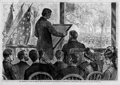 Centennial Mr. Richard Henry Lee Fourth Reading Declaration Of Independence
