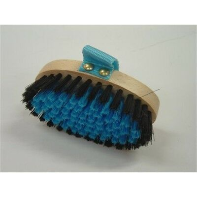 Vale Brothers Body Brush Childrens Blue Small S.d99b - Grooming Horse Equine