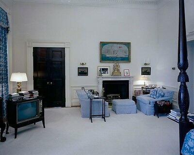 First Lady Jacqueline Kennedy White House bedroom 1962 JFK New 8x10 Photo