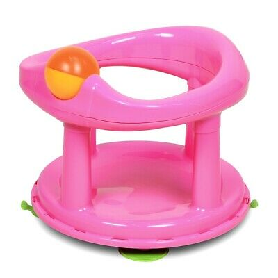 Safety 1st Swivel Bath Seat - Pink - Baby Support Primary New Lime