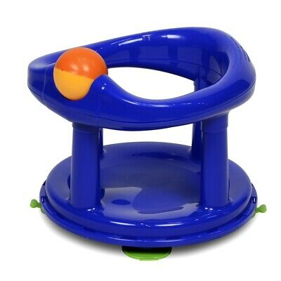 Safety 1st Swivel Bath Seat - Primary - Baby Support Blue New