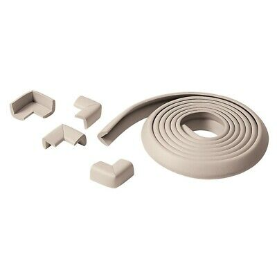 Prince Lionheart Table Edge Guard With 4 Corners (neutral) - Cushiony 3.6m Roll