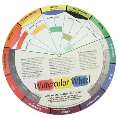 The Color Wheel Company Watercolor Wheel Watercolor Color Wheel - Watercolour
