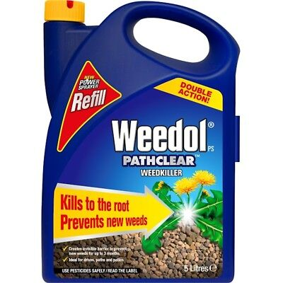 Weedol Pathclear Power Spray Refill, 5l