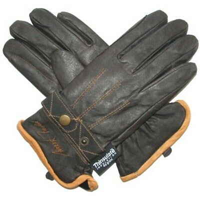 Mark Todd Winter Riding Glove - Brown, X-small - Gloves Thinsulate Leather