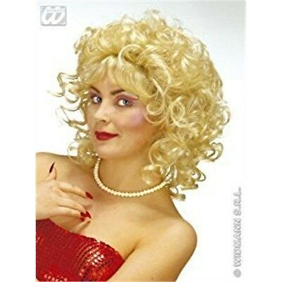 Milly Blonde Wig For Hair Accessory Fancy Dress - 80s Perm Curly Short Ladies