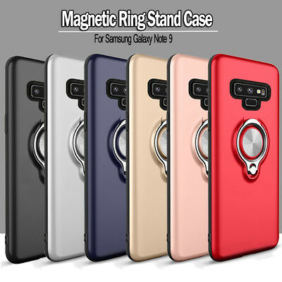 Shockproof Magnetic Ring Stand Armor Case Cover For Samsung Galaxy Note 9/8 S8+