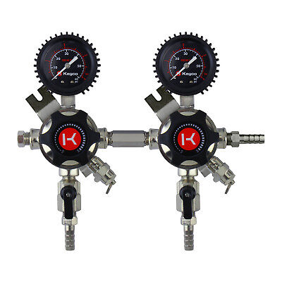 Kegco LHU5S-2 Elite Series Two Product Secondary Regulator
