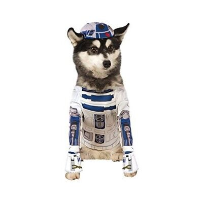 Official Rubie's Star Wars R2-d2 Pet Dog Costume, Size: X-large Neck To Tail 28