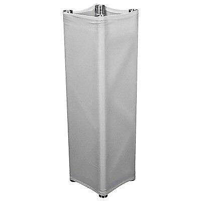Global Truss GT-TC2.5 Truss White Scrim Cover For 8.20Ft Square Truss Section