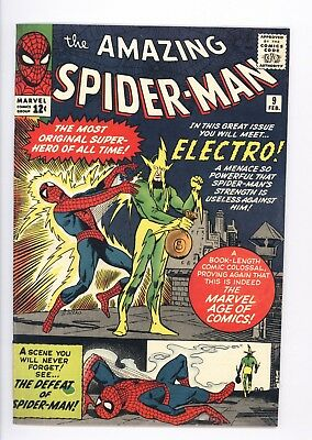 Amazing Spider-Man #9 Vol 1 Super High Grade 1st Appearance of Electro