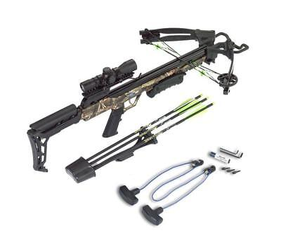 Carbon Express X-Force Blade Crossbow Package - Camo - 20244
